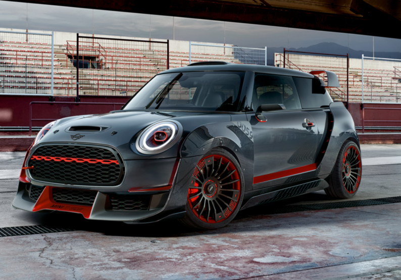 mini john cooper works gp concept. Black Bedroom Furniture Sets. Home Design Ideas