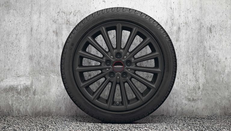 "Jante 17"" JCW Multi Spoke – jet black mat – 505"
