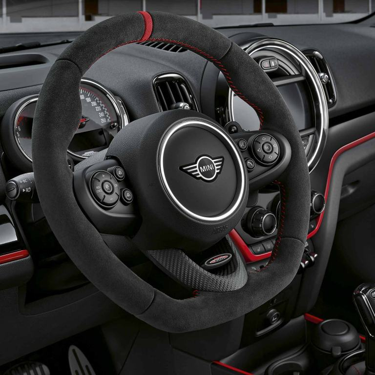 MINI John Cooper Works – volant – carbone