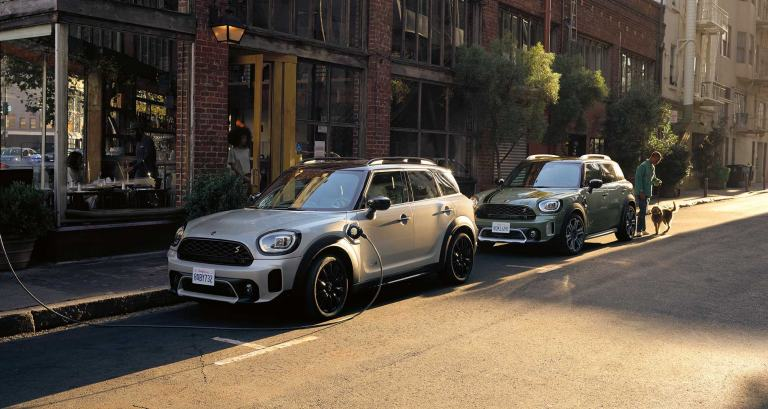 Nouveau MINI COUNTRYMAN – MINI COOPER SE COUNTRYMAN ALL4 – vue de face